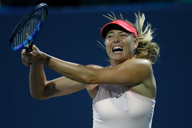 Sharapova pulls out of Cincinnati's Western & Southern Open