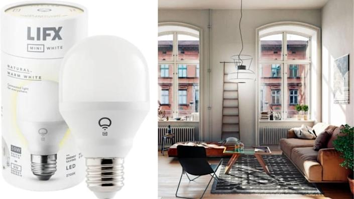 Smart lights are great for helping homes become fully connected.