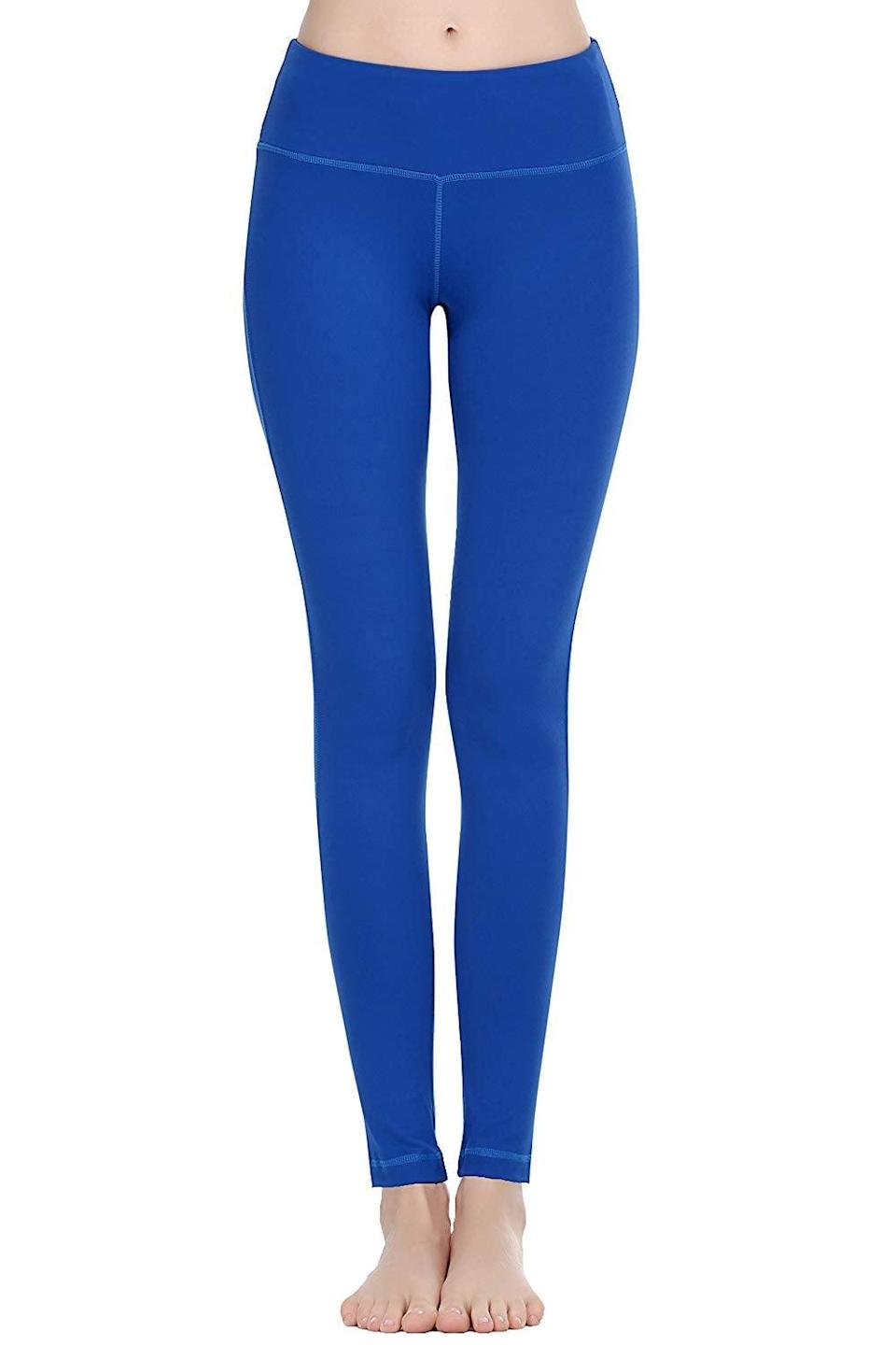 """<p>These <a href=""""https://www.popsugar.com/buy/Oalka-Women-Power-Flex-Yoga-Pants-365704?p_name=Oalka%20Women%20Power%20Flex%20Yoga%20Pants&retailer=amazon.com&pid=365704&price=20&evar1=fit%3Aus&evar9=45278643&evar98=https%3A%2F%2Fwww.popsugar.com%2Ffitness%2Fphoto-gallery%2F45278643%2Fimage%2F45278652%2FOalka-Women-Power-Flex-Yoga-Pants&list1=shopping%2Camazon%2Cworkout%20clothes%2Cleggings%2Cfitness%20gear&prop13=mobile&pdata=1"""" class=""""link rapid-noclick-resp"""" rel=""""nofollow noopener"""" target=""""_blank"""" data-ylk=""""slk:Oalka Women Power Flex Yoga Pants"""">Oalka Women Power Flex Yoga Pants</a> ($20) have over 2,000 positive reviews, with one customer claiming """"these are the perfect workout pants!""""</p>"""