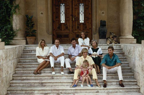 <p>Who doesn't love a royal crossover? For the summers of 1987 (pictured here), 1988, and 1990, the royal family spent their vacation time with King Juan Carlos of Spain, Queen Sofia, and their family, including son Prince Felipe, who is now the reigning monarch. </p>