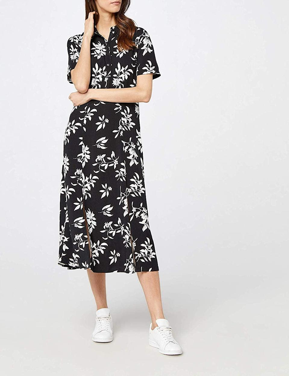 <p>This <span>Find. Floral Dress</span> ($40) is really well made.</p>