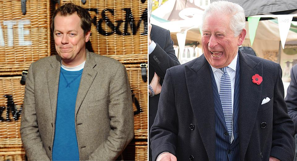 Tom Parker Bowles is the godson and stepson of Prince Charles. (Getty Images)