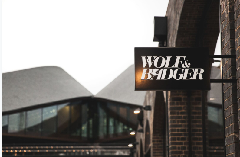 Wolf & Badger has a London store in Kings Cross (wolf & badger)