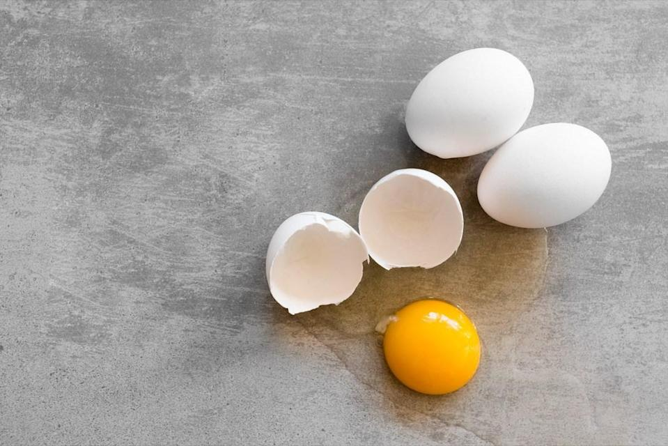 "Chicken eggshells are mostly made up of calcium carbonate, a substance that also exists in human bones. That's why researchers at the University of Massachusetts Lowell (UML) believe that <a href=""https://pubs.rsc.org/en/content/articlelanding/2019/bm/c9bm00230h#!divAbstract"" rel=""nofollow noopener"" target=""_blank"" data-ylk=""slk:eggs are ideal for growing new bone for humans"" class=""link rapid-noclick-resp"">eggs are ideal for growing new bone for humans</a> who have suffered injuries to their own skeleton. ""There is a great need for developing new and functional materials to repair and regenerate damaged bone,"" <strong>Gulden Camci-Unal</strong>, a professor of chemical engineering at UML who led the research, told <em>Smithsonian</em> magazine in 2019. ""At our lab, we like to take unconventional approaches; we <a href=""https://www.smithsonianmag.com/innovation/how-scientists-are-using-eggshells-grow-new-bone-180972641/"" rel=""nofollow noopener"" target=""_blank"" data-ylk=""slk:look at nature"" class=""link rapid-noclick-resp"">look at nature</a> and try to see what we can use that already exists."""