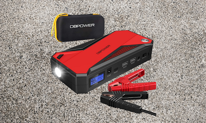 Bring your car back to life with this portable jump starter. (Photo: Amazon)