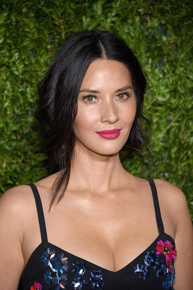 <p>Olivia Munn attends 13th Annual CFDA/Vogue Fashion Fund Awards at Spring Studios on Nov. 7, 2016, in New York City. (Photo: Dimitrios Kambouris/Getty Images) </p>