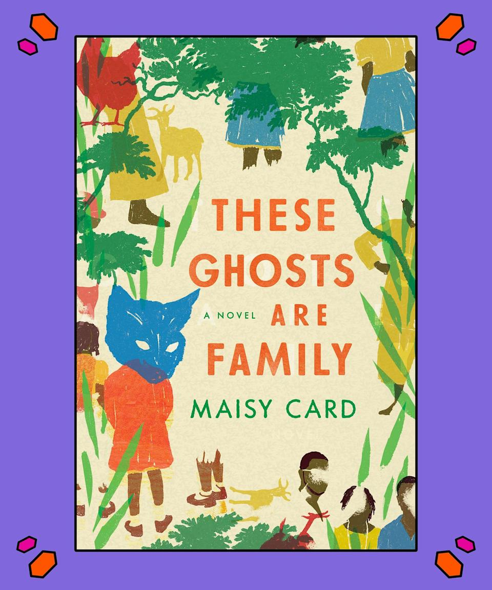 """<strong><em>These Ghosts Are Family</em>, Maisy Card</strong><br><br>Author Maisy Card makes her debut with a gripping tale of generational trauma and what happens when it goes unaddressed. Rooted in Jamaica, Card's novel tells the story of a man who changes his identity and leaves his family behind. Over 35 years later, he reunites with his daughter, who – until this very moment – thought her father was dead. As the two put the pieces together, he's forced to face the strain he's placed upon his family, while his daughter's life is changed forever.<br><br>""""In this fascinating debut, Maisy Card reveals her spectacular range and scope,"""" <a href=""""https://www.amazon.com/These-Ghosts-Are-Family-Novel/dp/1982117435/ref=sr_1_1?crid=3V4DXPX9GQE8Z&keywords=these+ghosts+are+family&qid=1578496117&sprefix=these+gh%2Caps%2C133&sr=8-1"""" rel=""""nofollow noopener"""" target=""""_blank"""" data-ylk=""""slk:says The Need author Helen Phillips"""" class=""""link rapid-noclick-resp"""">says <em>The Need</em> author Helen Phillips</a>. """"Part immigrant narrative, part ghost story, part historical fiction, part family drama, <em>These Ghosts Are Family</em> explores and illuminates the complexities of race and lineage in Jamaica and the United States.""""<br><br>This may be your next page-turner.<br><br>Get your copy <a href=""""https://amzn.to/2YDjmRH"""" rel=""""nofollow noopener"""" target=""""_blank"""" data-ylk=""""slk:here"""" class=""""link rapid-noclick-resp"""">here</a><a href=""""https://www.amazon.com/These-Ghosts-Are-Family-Novel/dp/1982117435/ref=sr_1_1?crid=3V4DXPX9GQE8Z&keywords=these+ghosts+are+family&qid=1578496117&sprefix=these+gh%2Caps%2C133&sr=8-1"""" rel=""""nofollow noopener"""" target=""""_blank"""" data-ylk=""""slk:."""" class=""""link rapid-noclick-resp"""">.</a>"""
