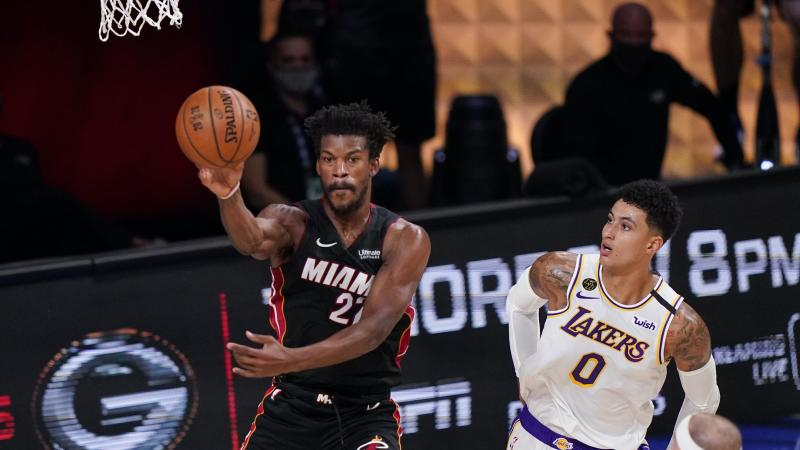 Jimmy Butler carries Miami Heat to 11-point win over LA Lakers