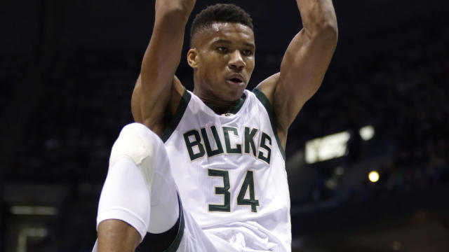Antetokounmpo and the Bucks could be dangerous in the playoffs.