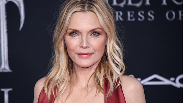 Michelle Pfeiffer is sharing the