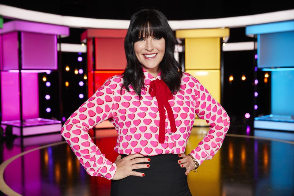 Anna Richardson, the host of naked Attraction (C4)
