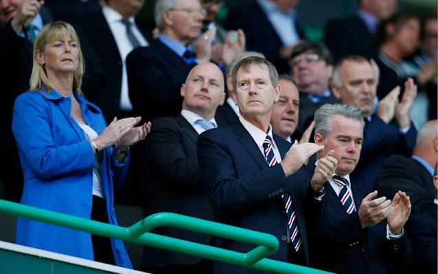 <span>Dave King believes Rangers still need his guiding hand</span> <span>Credit: ACTION IMAGES </span>