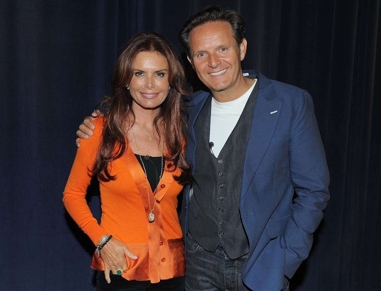 LOS ANGELES, CA - JUNE 12:  Executive Producers Roma Downey and Mark Burnett attend a special event for History's 'The Bible' at Harmony Gold Theatre on June 12, 2013 in Los Angeles, California.  (Photo by Angela Weiss/Getty Images for History)