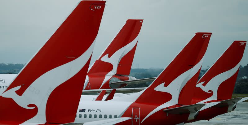 Qantas to slash 90% of international capacity as new virus restrictions bite