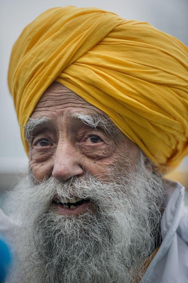 Indian-born British national Fauja Singh