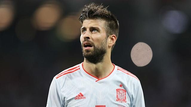 Gerard Pique says he will welcome a discussion with Barcelona vice-president Jordi Mestre regarding the Antoine Griezmann announcement.