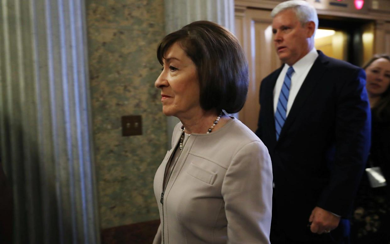 Maine faces backlash after Susan Collins backs Brett Kavanaugh - Bloomberg