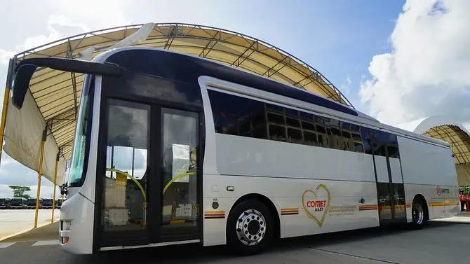 A COMET MAXI bus. (PHOTO: SMRT)