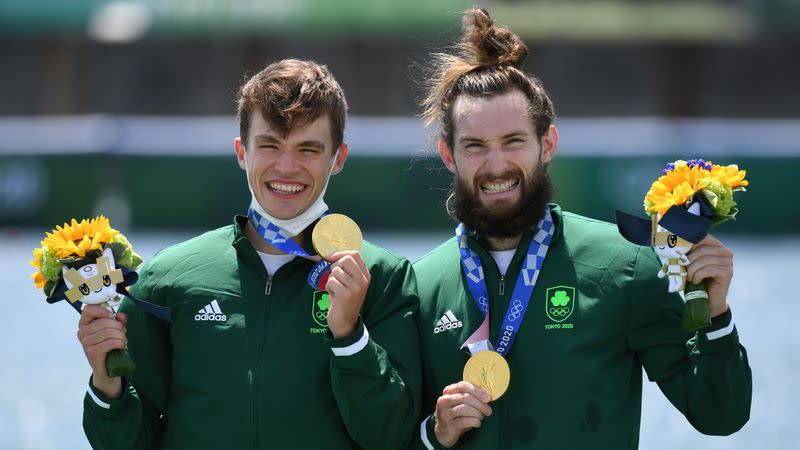 Rowing - Men's Lightweight Double Sculls - Medal Ceremony