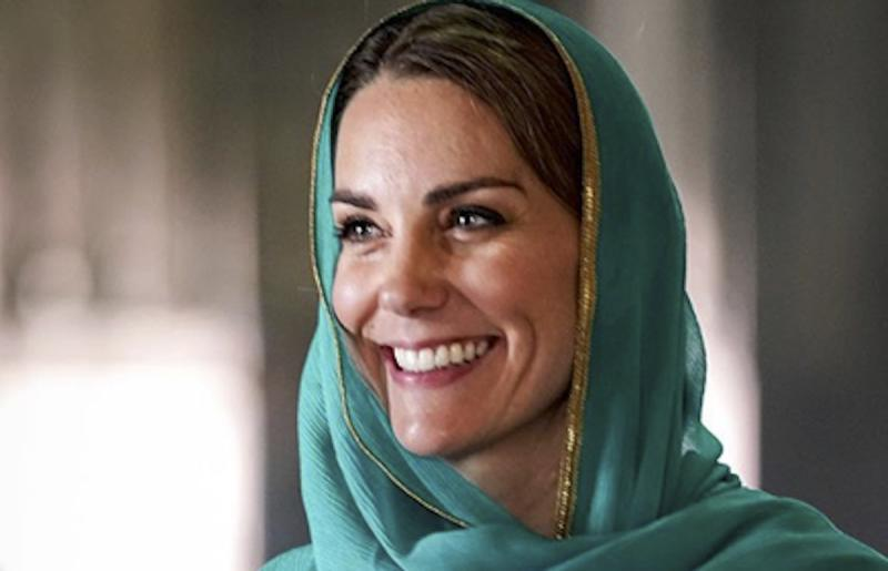 Kate Middleton Pakistan Look