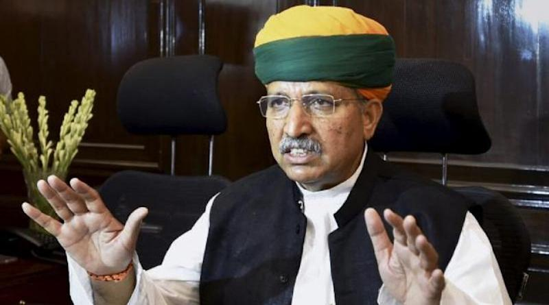 Arjun Ram Meghwal, Union Minister, Admitted to AIIMS After Testing COVID-19 Positive