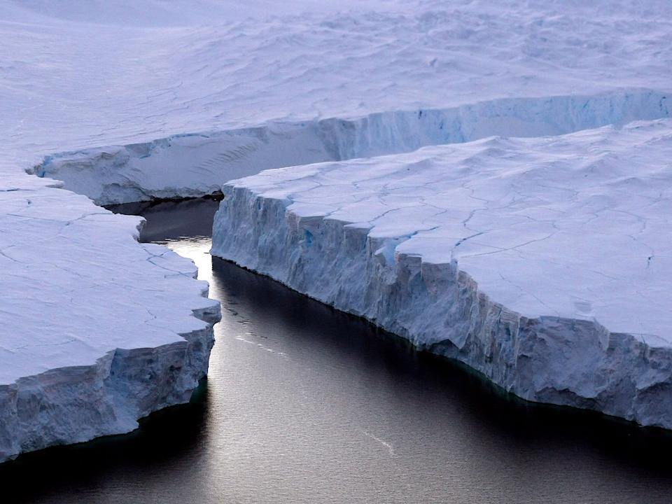 Ross Ice Shelf: Getty Images