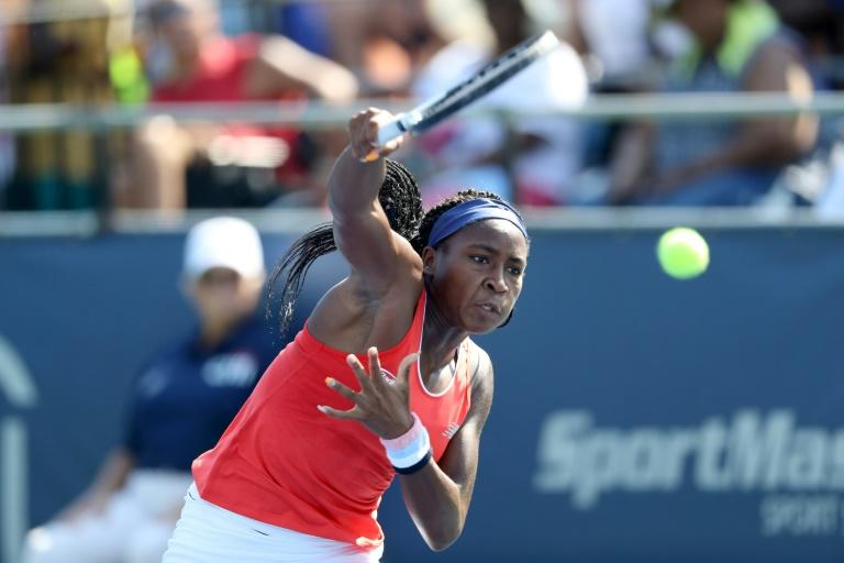 Peterson upsets top seed Stephens in first round at Citi Open