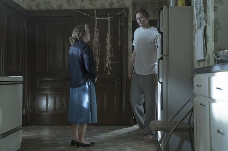 Sissy Spacek and Bill Skarsgård in Castle Rock. (Warner Bros. Home Entertainment Inc)