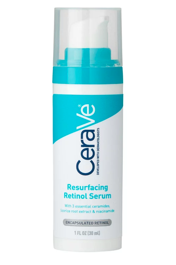 """<p><strong>CeraVe</strong></p><p>ulta.com</p><p><strong>$19.99</strong></p><p><a href=""""https://go.redirectingat.com?id=74968X1596630&url=https%3A%2F%2Fwww.ulta.com%2Fresurfacing-retinol-serum%3FproductId%3Dpimprod2012179&sref=https%3A%2F%2Fwww.marieclaire.com%2Fbeauty%2Fg33597196%2Fbest-retinol-creams%2F"""" rel=""""nofollow noopener"""" target=""""_blank"""" data-ylk=""""slk:SHOP IT"""" class=""""link rapid-noclick-resp"""">SHOP IT</a></p><p>CeraVe is as gentle as it gets, so if you're just trying to dip a toe into the pool reach for this complexion-cradling option first. </p>"""