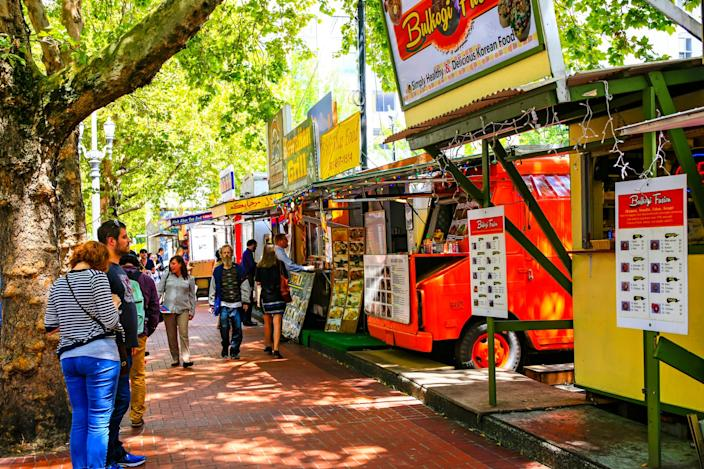Portland Oregon food trucks