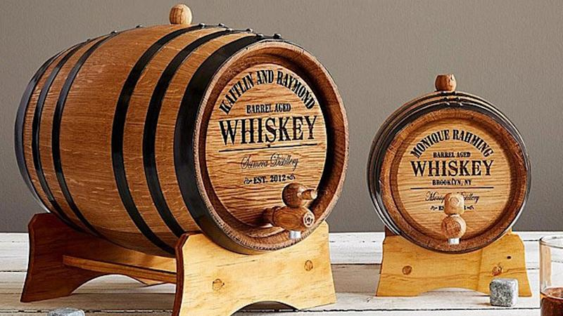 Best personalized gifts 2019: Personalized whiskey barrel