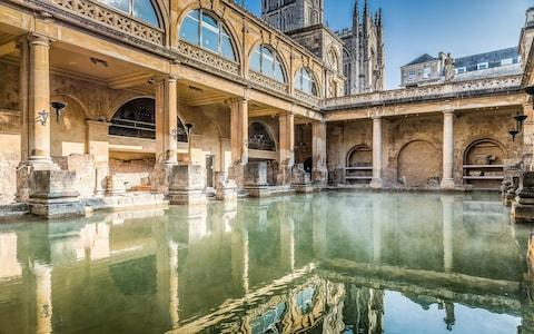 The Roman Baths - Credit: 360image / Andy Fletcher Photogr