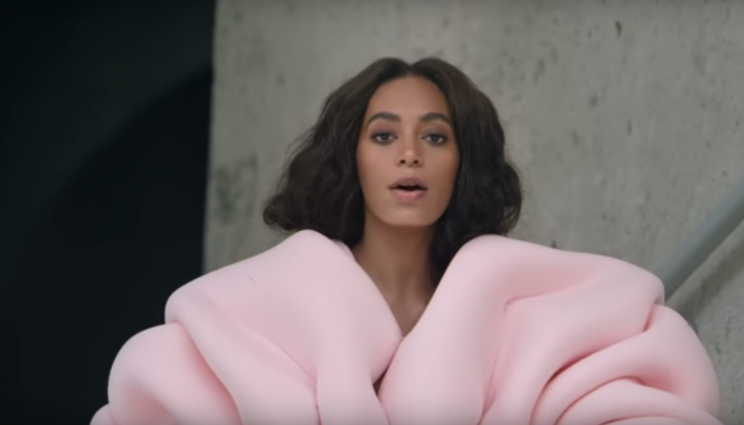 Solange Knowles in 'Cranes in the Sky' (Photo: Columbia Records)