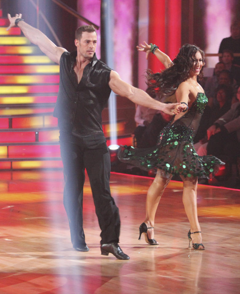 """William Levy and Cheryl Burke perform on """"Dancing With the Stars."""""""