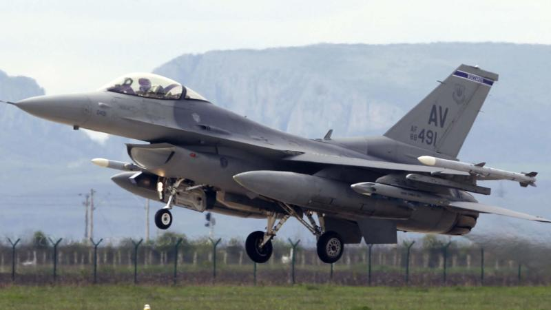 US refuelling plane saves F-16 pilot in emergency over IS territory