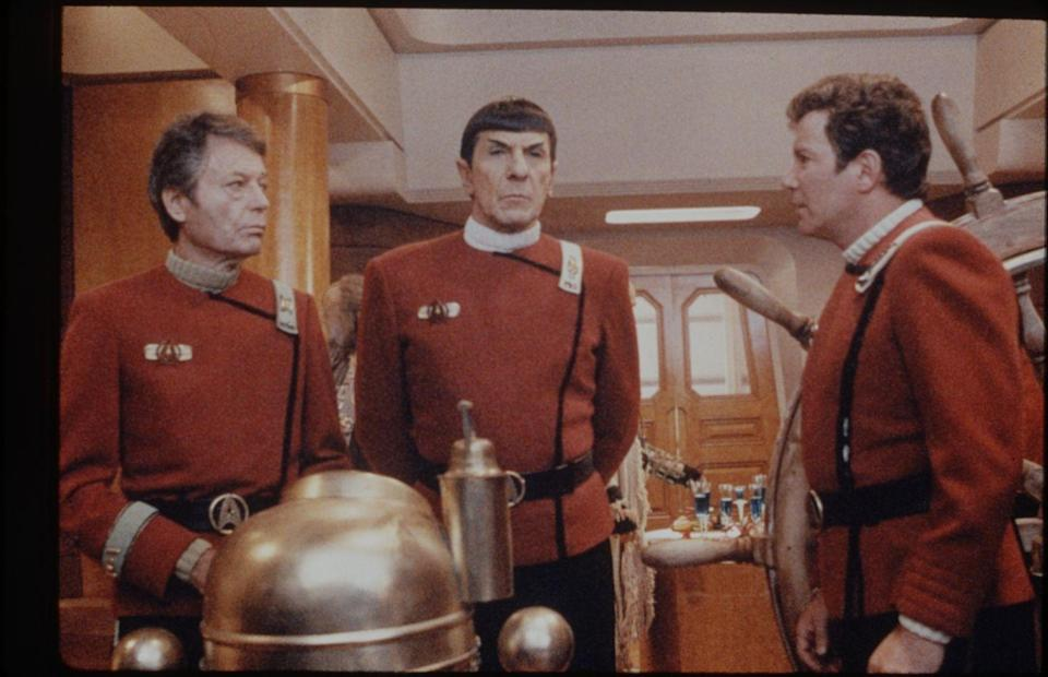 <p>William Shatner rose to fame portraying Captain Kirk on <em>Star Trek.</em> By the fifth installment of the sci-fi franchise, the actor took on an additional role. He made his directorial debut in <em>Star Trek V: The Final Frontier</em>.</p>