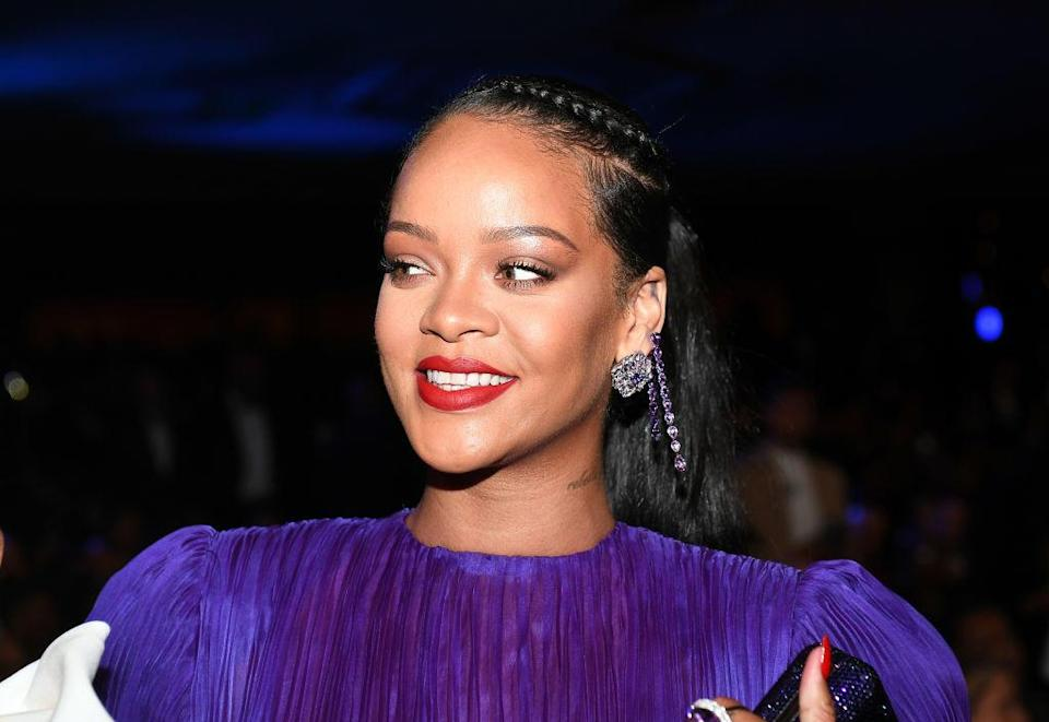 Rihanna attends the 51st NAACP Image Awards, Presented by BET, at Pasadena Civic Auditorium on February 22, 2020, in Pasadena, California. / Credit: Paras Griffin/Getty Images for BET