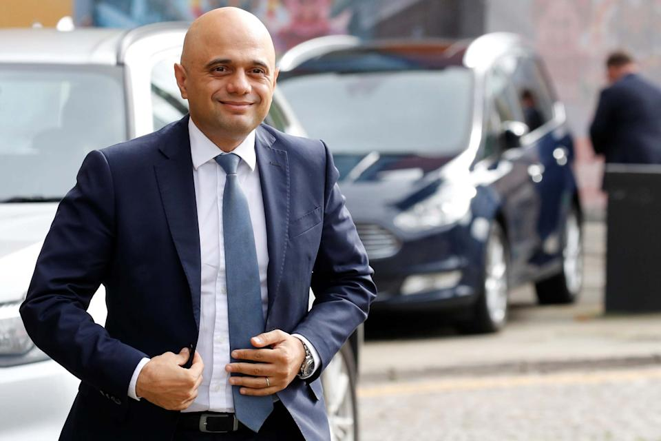 Sajid Javid was due to unveil a £500m plan to boost youth centres: REUTERS