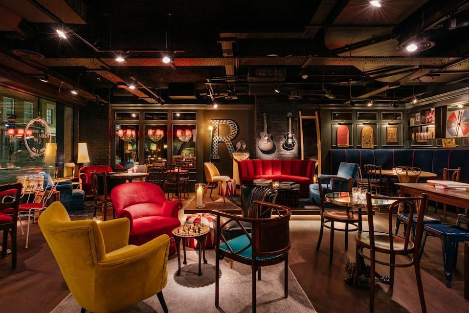 """<p>Enjoy a magical mystery tour around this unusual hotel in London. <a href=""""https://www.ruby-hotels.com/"""" rel=""""nofollow noopener"""" target=""""_blank"""" data-ylk=""""slk:Ruby Hotels"""" class=""""link rapid-noclick-resp"""">Ruby Hotels</a>, the Munich-based hotel brand, recently launched its first UK property in London's Southbank. <a href=""""https://go.redirectingat.com?id=127X1599956&url=https%3A%2F%2Fwww.booking.com%2Fhotel%2Fgb%2Fruby-lucy-london.en-gb.html%3Faid%3D1922306%26label%3Dunusual-hotels-uk&sref=https%3A%2F%2Fwww.goodhousekeeping.com%2Fuk%2Flifestyle%2Ftravel%2Fg34667984%2Fquirky-unusual-hotels-uk%2F"""" rel=""""nofollow noopener"""" target=""""_blank"""" data-ylk=""""slk:Ruby Lucy"""" class=""""link rapid-noclick-resp"""">Ruby Lucy</a>'s interior design is inspired by the area's bustling fairs and markets, entertainment and theatre scene, with a carnival theme running throughout the hotel. </p><p>Rich, dark tones meet bright brass accents and subtle stripes, accented with playful props including circus drums and juggling pins. </p><p> Rooms, in contrast, feature neutral hues but showcase Ruby Hotels' sleep-scientist-approved formula, including full soundproofing and blackout curtains, as well as unusual touches and cutting-edge technology, like a Marshall guitar amp and a personal tablet PC pre-loaded with a carefully-curated London city guide.</p><p><a class=""""link rapid-noclick-resp"""" href=""""https://go.redirectingat.com?id=127X1599956&url=https%3A%2F%2Fwww.booking.com%2Fhotel%2Fgb%2Fruby-lucy-london.en-gb.html%3Faid%3D1922306%26label%3Dunusual-hotels-uk&sref=https%3A%2F%2Fwww.goodhousekeeping.com%2Fuk%2Flifestyle%2Ftravel%2Fg34667984%2Fquirky-unusual-hotels-uk%2F"""" rel=""""nofollow noopener"""" target=""""_blank"""" data-ylk=""""slk:CHECK AVAILABILITY"""">CHECK AVAILABILITY</a></p>"""