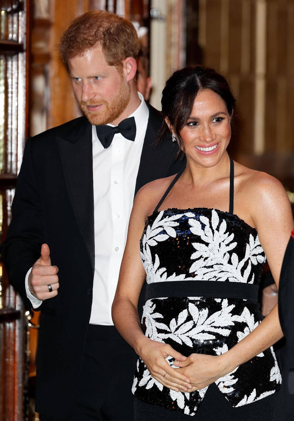 The Duchess of Sussex has apparently been warned about dressing too Hollywood. Photo: Getty