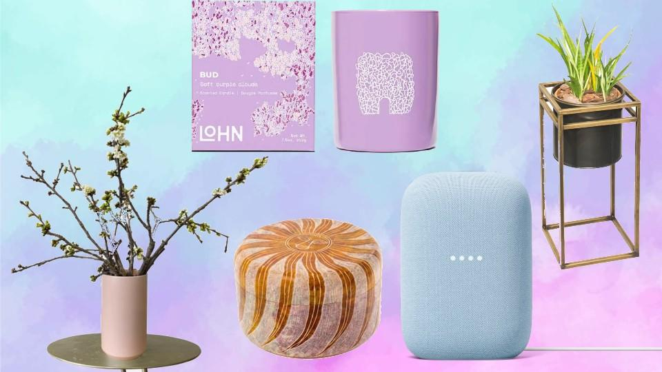 Add these products to your home this spring for an extra pop of colour.