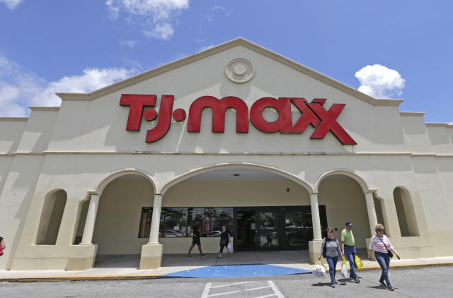 TJ Maxx's parent company, TJX, is set to report earnings in the week ahead during what will be a rush of reports out of the retail sector. (AP Photo/Alan Diaz)