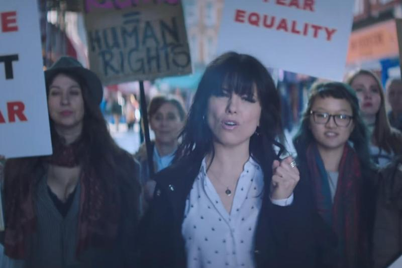 Protest: Imelda May in the video for Should've Been You