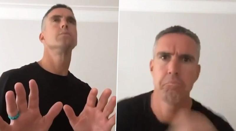 Kevin Pietersen Grooves to AR Rahman's Famous Tamil Song Ottagathai Kattiko in Latest TikTok Video