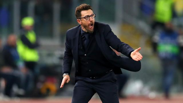 Eusebio Di Francesco will remain with Roma until at least 2020 after signing a contract extension.