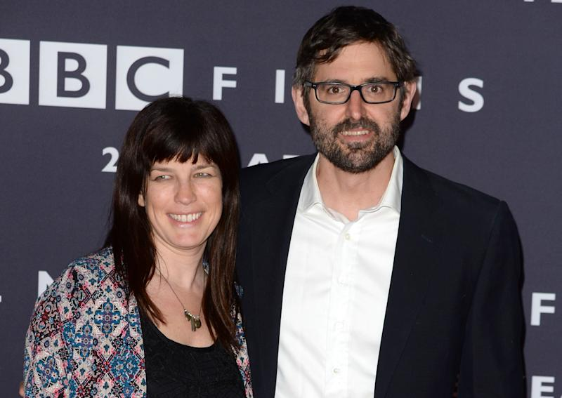 Louis Theroux has set up the indie production company with his director wife Nancy Strang (Credit: PA)