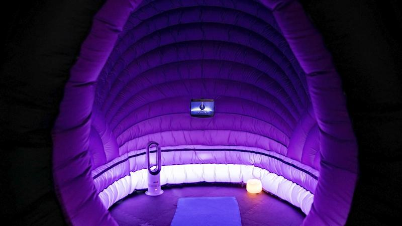 The new minipods will offer yogis a personal experience (Hotpod Yoga)