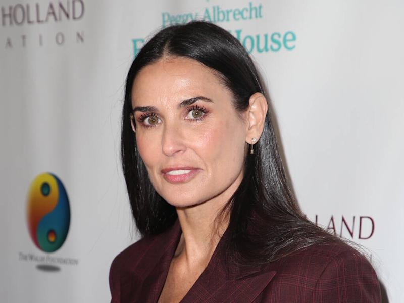 Demi Moore alleges Ashton Kutcher used threesomes to excuse his infidelity