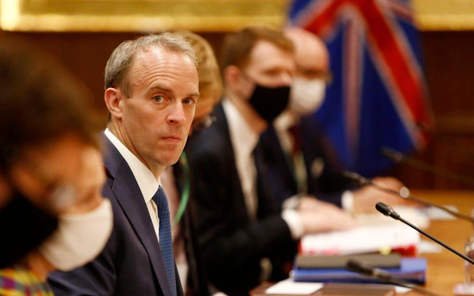 Dominic Raab's phone number has been online for a number of years - Shutterstock