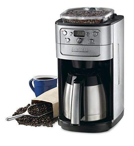 """<p><strong>Cuisinart</strong></p><p>amazon.com</p><p><strong>$379.99</strong></p><p><a href=""""https://www.amazon.com/dp/B0010XTSFO?tag=syn-yahoo-20&ascsubtag=%5Bartid%7C1782.g.33523252%5Bsrc%7Cyahoo-us"""" rel=""""nofollow noopener"""" target=""""_blank"""" data-ylk=""""slk:BUY NOW"""" class=""""link rapid-noclick-resp"""">BUY NOW</a></p><p>Amazon reviewers love how easy this coffee pot has made their mornings. As one reviewer wrote, """"Wow! Fresh coffee, made the way I like it, without all the hassle of grinding in the morning.""""</p>"""